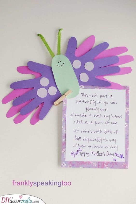 Handy Butterfly - Cute Gifts for Mom