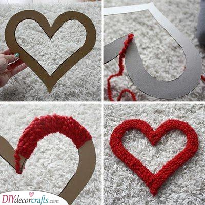 Fluffy Heart - Cheap Mothers Day Gift Ideas