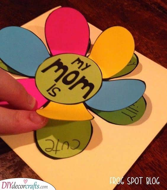 Flip the Flap - Cheap Mothers Day Gift Ideas