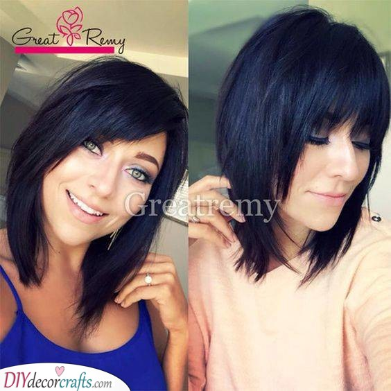 A Layered and Cute Haircut - Shaggy and Trendy