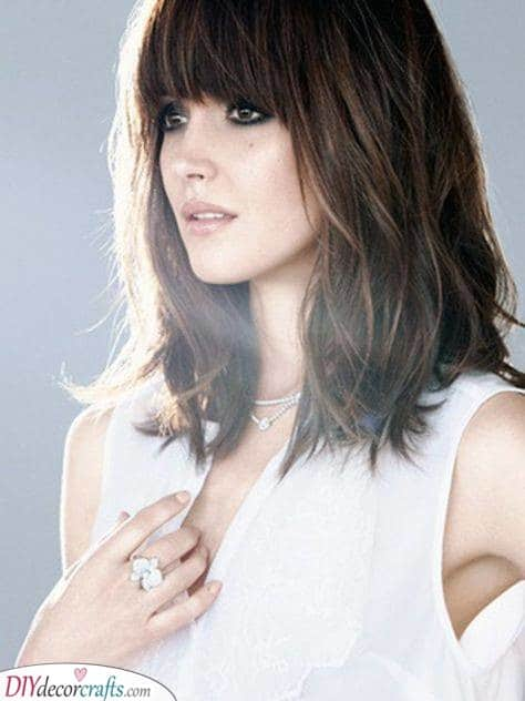 Great Hairstyle for Thick Hair - Unique Ideas