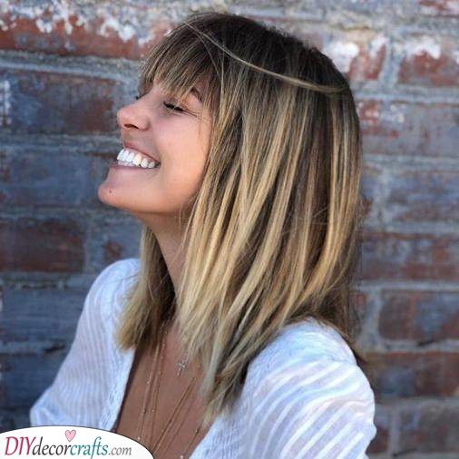 Choppy Layers - Awesome Shoulder Length Hairstyles