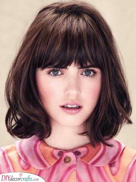French Bob - Beautiful Shoulder Length Hairstyles