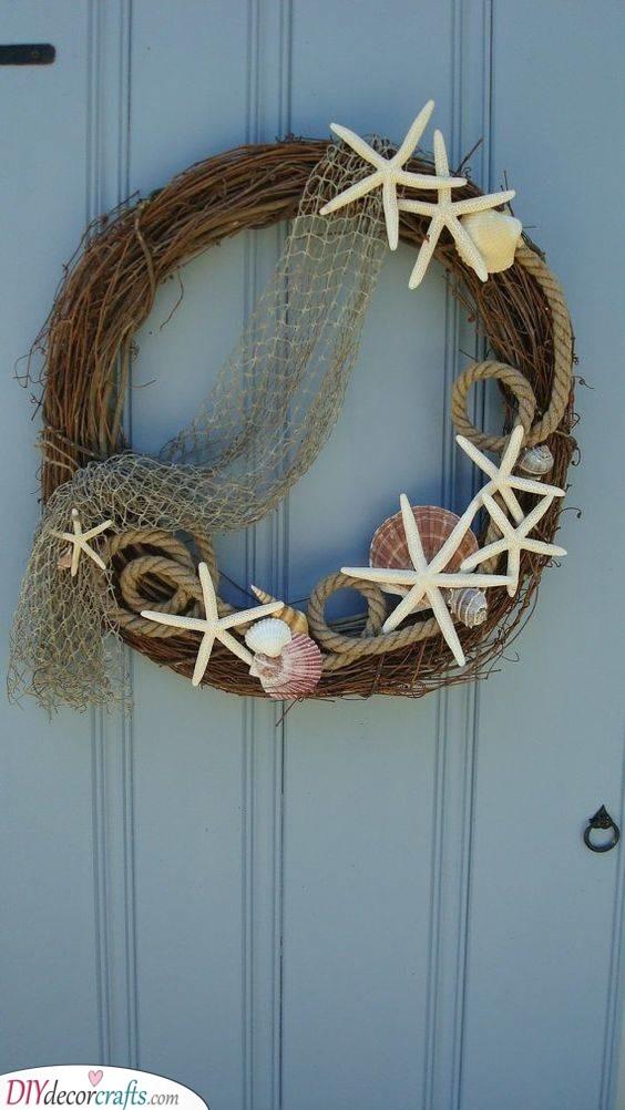 Nautical Inspired - Summer Door Wreaths