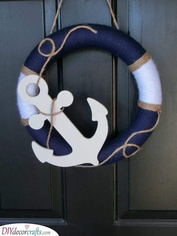 Nautical Wreath - Summer Wreaths for Front Doors