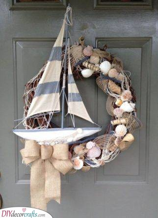 A Sailing Ship - Combined with Shells