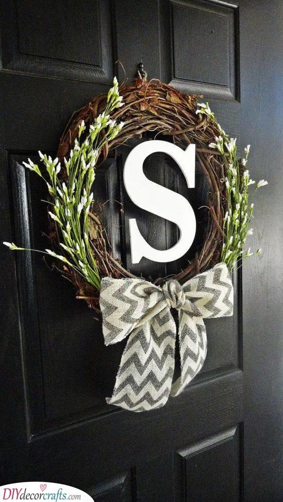 Rustic Wreath - Summer Wreaths for Front Doors