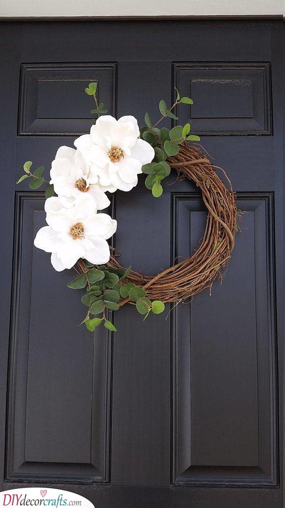 A Rustic Wreath - Nature's Gifts