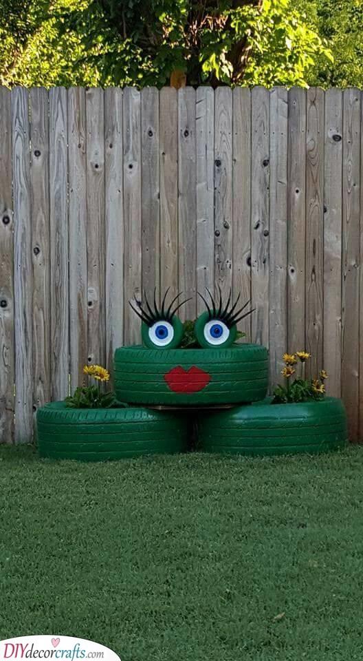 Frog Idea - Great Garden Decoration Ideas for Summer