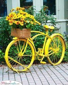 Bike of Sunshine - Garden Decoration Ideas for Summer