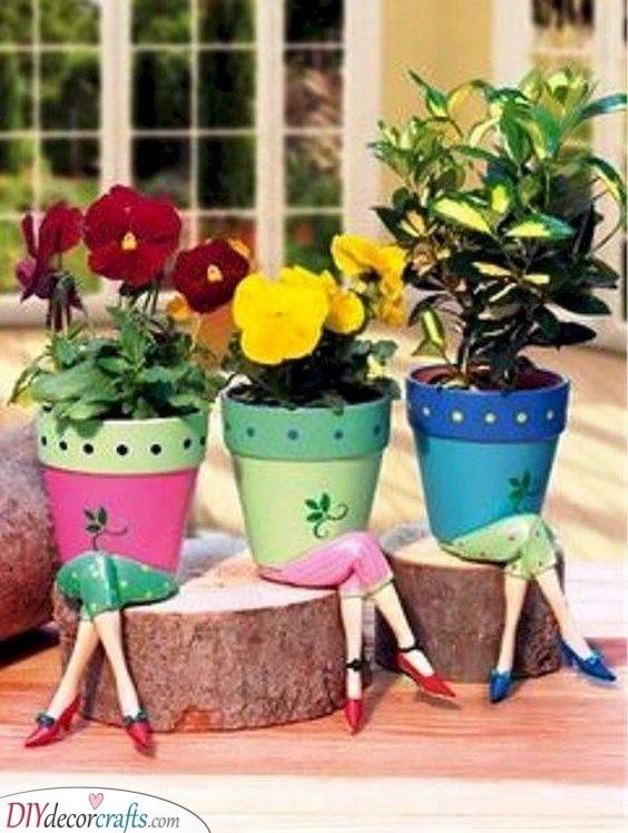 Lovely Legs - Cool Garden Decoration Ideas for Summer