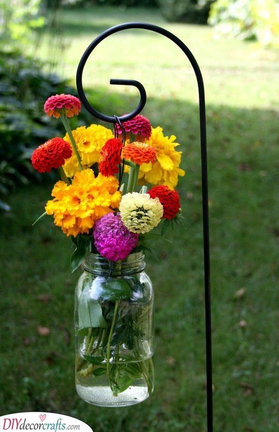 A Jarful of Flowers - An Essence of Summer