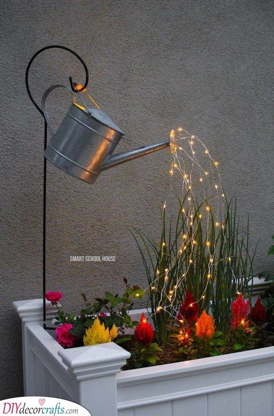 Lights Instead of Water - Light Up Your Garden