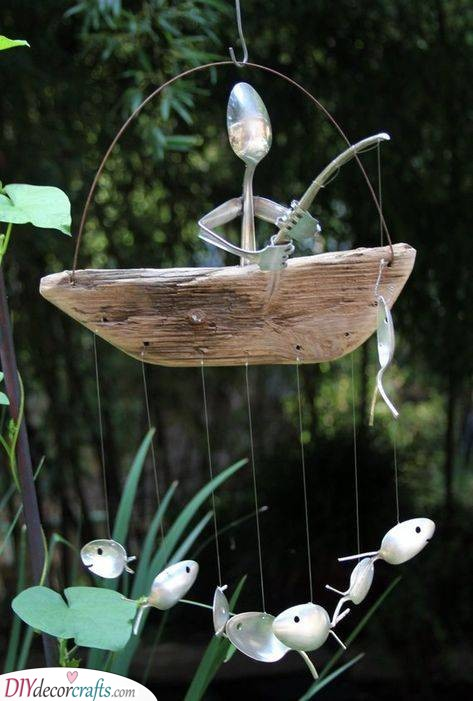 Funny Fisherman - Summer Garden Ideas