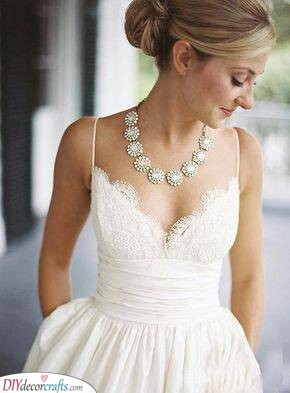 Simple but Fabulous - Floral Inspired Necklace