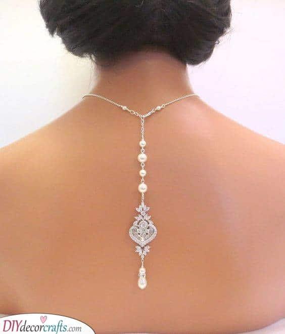 Picturesque Backdrop Necklace - Unique Bridal Accessories
