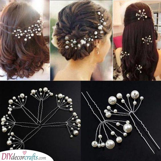 Pearly Pins - Hair Accessories for Your Big Day