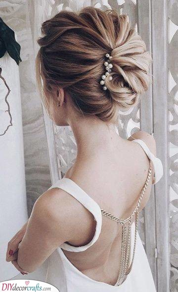 French Twists - Wedding Hairstyles for Medium Length Hair
