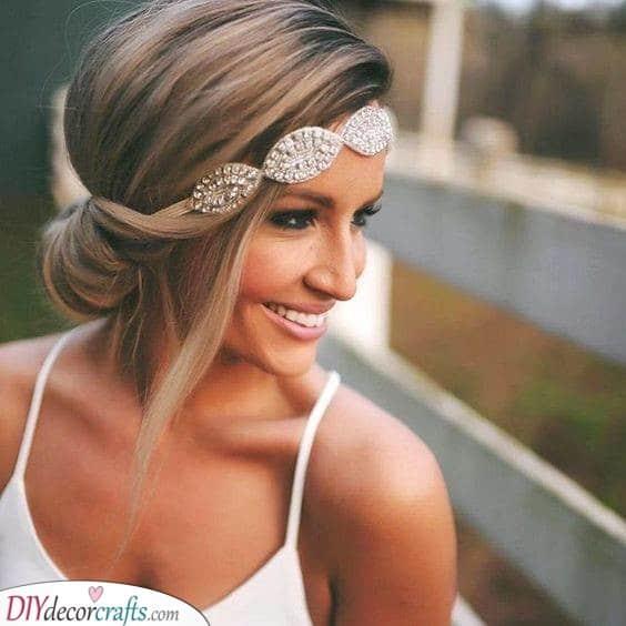 Bridal Headband - Retro Glamour