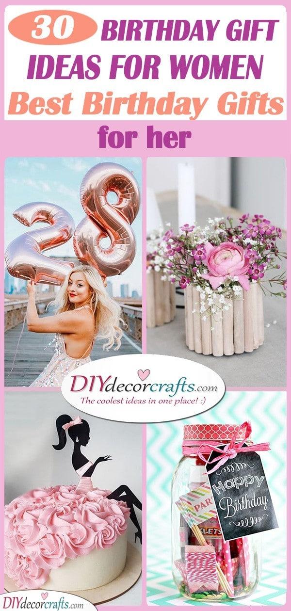 30 BIRTHDAY GIFT IDEAS FOR WOMEN