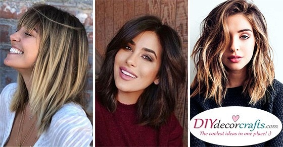 30 STUNNING MEDIUM LENGTH HAIRSTYLES FOR WOMEN - Shoulder Length Hairstyles