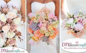 30 BRIDAL FLOWER BOUQUETS - Beautiful DIY Bridal Bouquets