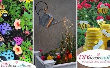 30 GARDEN DECORATION IDEAS FOR SUMMER - Awesome Summer Garden Decor