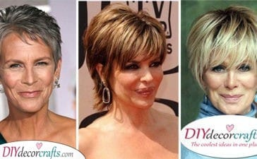 25 SHORT HAIRSTYLES FOR WOMEN OVER 50 - Gorgeous Short Haircuts for Older Women