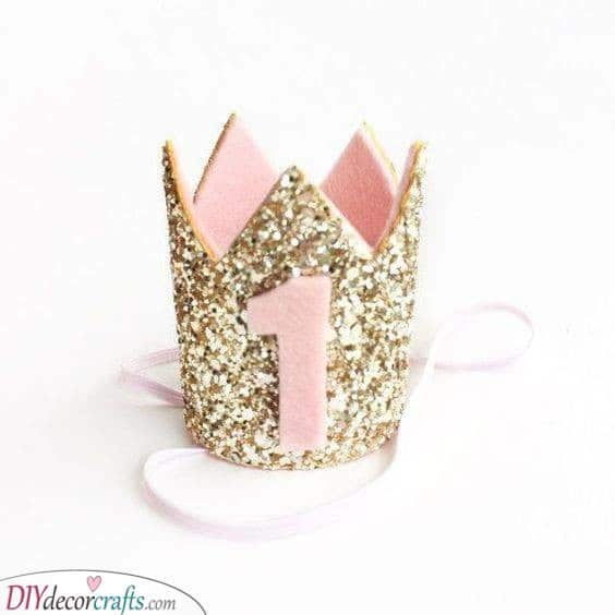 A Glimmering Crown - 1st Birthday Gift Ideas for Girls