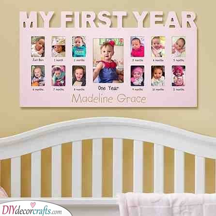 Her First Year - Timeline Idea as a Birthday Present