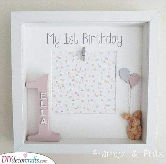 Frame it - Personalised Gifts for the Birthday Girl