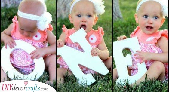 A Cute Photo Series - First Birthday Presents for Girls