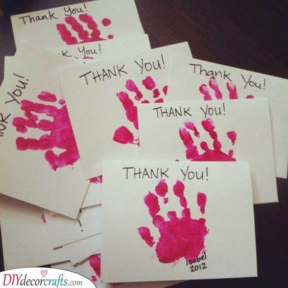 Thank-You Cards - First Birthday Gifts for Girls