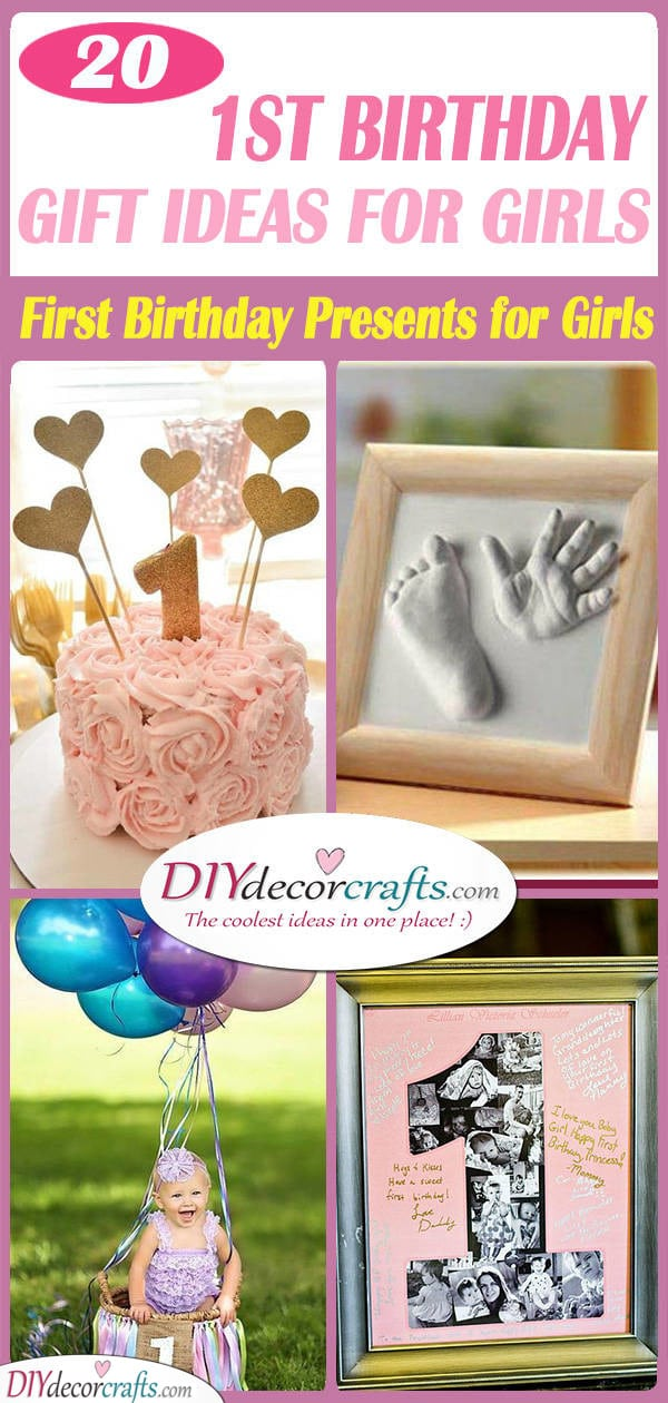 1st Birthday Gift Ideas For Girls 20 First Birthday Presents For