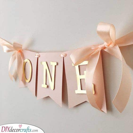 Decorating the Party - 1st Birthday Gift Ideas for Girls