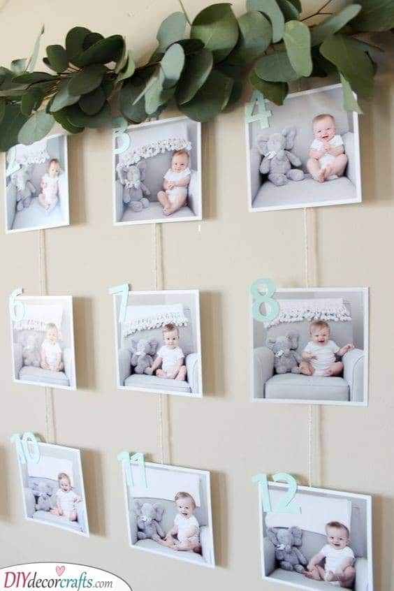 A Timeline Photo Series - Cute Ideas for Her