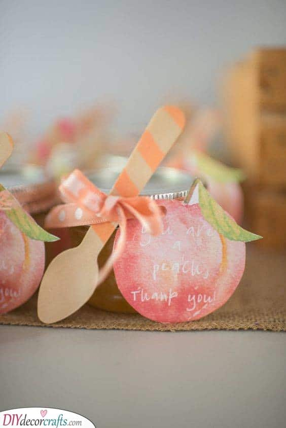 Sweet as a Peach - First Birthday Presents for Girls