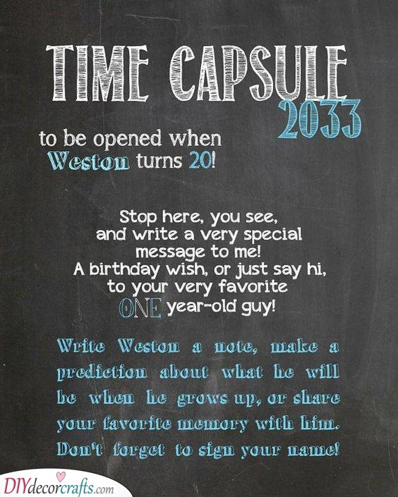 Another Time Capsule - A Future Message