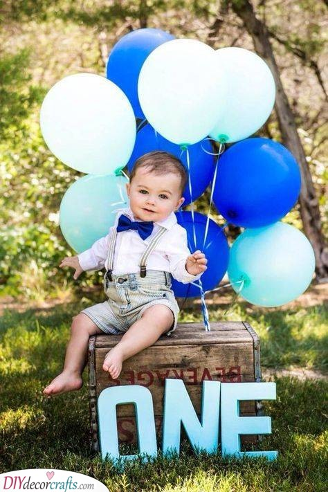A Beautiful Photoshoot - First Birthday Present Ideas