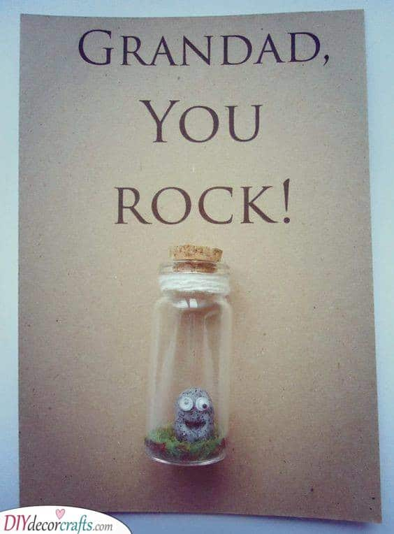 Your Grandad Rocks - Cute Birthday Gift Ideas for Grandpa