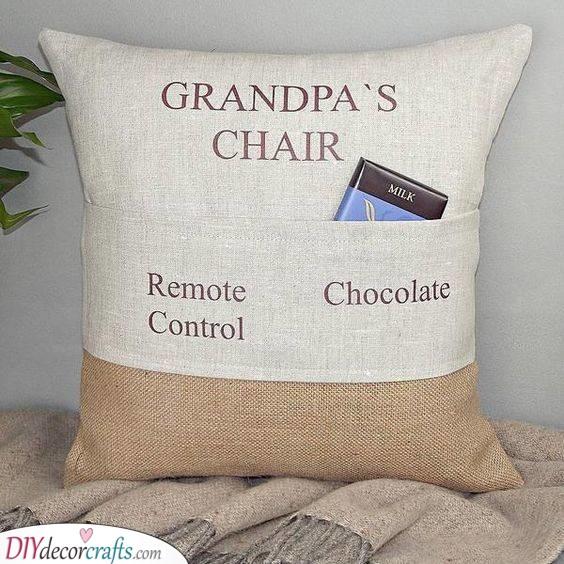 Grandpa's Pillow - Fantastic Grandad Birthday Gifts