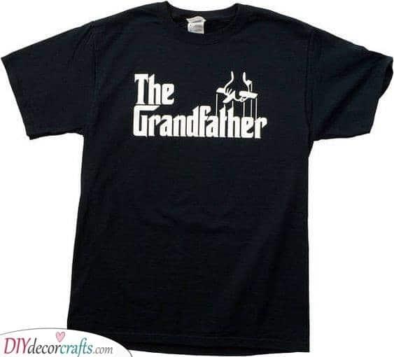 The Grandfather Shirt - Birthday Gift Ideas for Grandpa