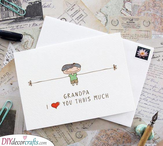 Love Him This Much - Grandad Birthday Gifts