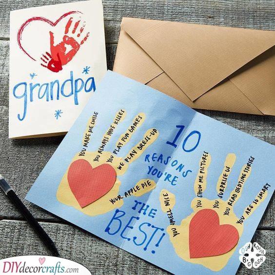 Ten Reasons Why Grandpa's the Best - Grandad Birthday Gifts