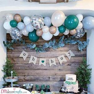 Shades of Blue - Baby Shower Themes for Boys