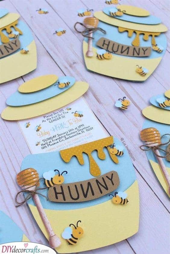 A Jar of Honey - Bee Inspired Party