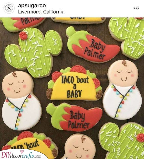 A Mexican Theme - Hip Baby Shower Party Ideas
