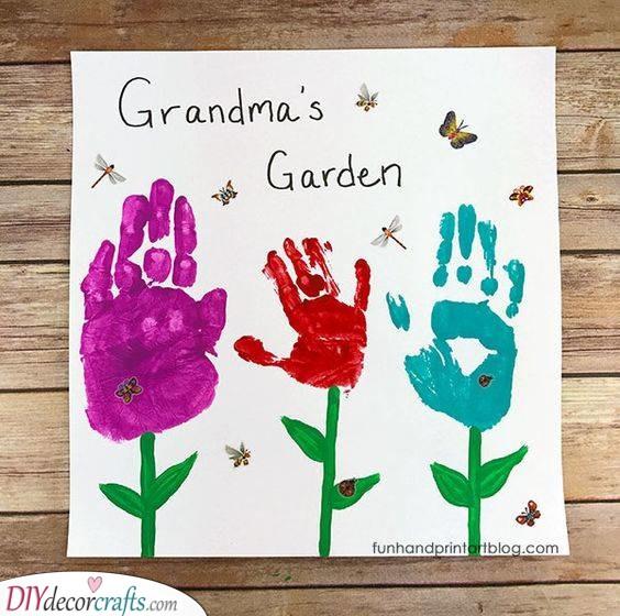 Grandma's Garden - Birthday Presents for Grandma