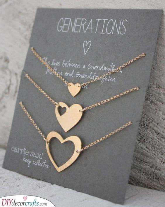 Generations of Women - Beautiful Necklaces