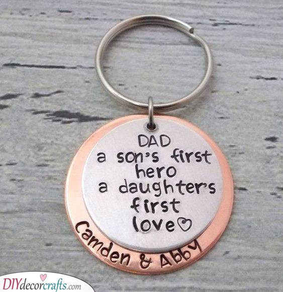 A Beautiful Keychain - Perfect Presents for Him